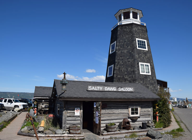 The Salty Dog Saloon on Homer Spit