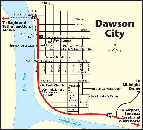 Dawson City The Milepost