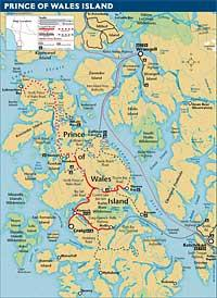 Prince Of Wales Island Map Thorne Bay, Prince of Wales Island | The Milepost Prince Of Wales Island Map