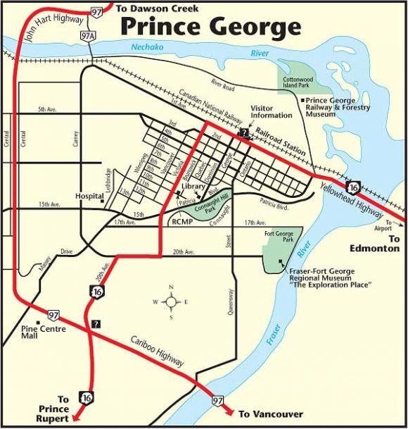 Prince George The Milepost